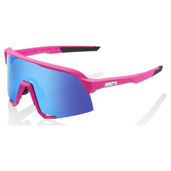 GAFAS 100 PERCENT S3 - PINK - HIPER BLUE MULTILAYER MIRROR LENS Foto 1