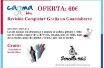 Oferta: Guardabarros Gratis con Mantenimiento Completo