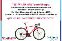 TEST BICICLETA WILIER GTR Team Ultegra 2018