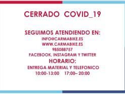 Eventos Eventos y salidas CERRADO COVID-19