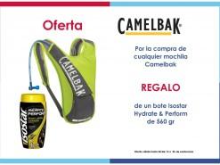 Ofertas y promociones Eventos y salidas Oferta: Camelbak + Isostar