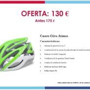 Eventos y salidas Ofertas y promociones Oferta: Casco Giro Atmos 130 €