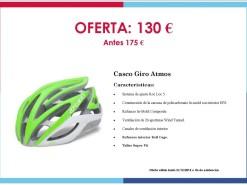 Ofertas y promociones Eventos y salidas Oferta: Casco Giro Atmos 130 €