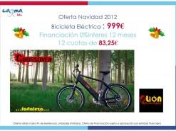 Eventos y salidas Ofertas y promociones Oferta Bicicleta Eléctrica Lion Crossover 999€
