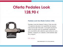 Eventos y salidas Ofertas y promociones Oferta Pedales Look 128.90€