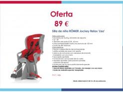 """Ofertas y promociones Eventos y salidas Oferta: Silla de Niños RÖMER Jockey Relax """"Lisa"""""""